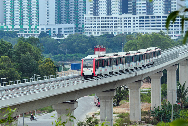 MALAYSIA – INDEPENDENT CHECKING  ENGINEER (ICE) FOR LRT STAR EXTENSION  PACKAGE B